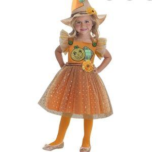 Girls 2T Scarecrow Halloween Costume